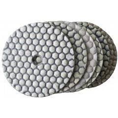Komplette serie schleifpads trocken