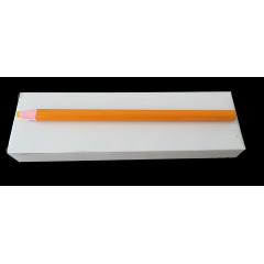 Boîte crayon jaune