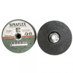 Festplatten klettverschluss Ø 115 Gr. 60