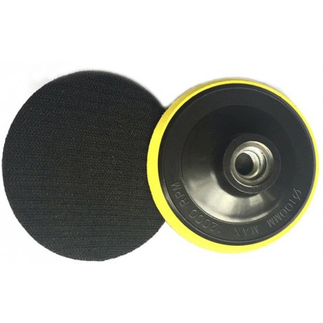 Plateau support velcro D100mm